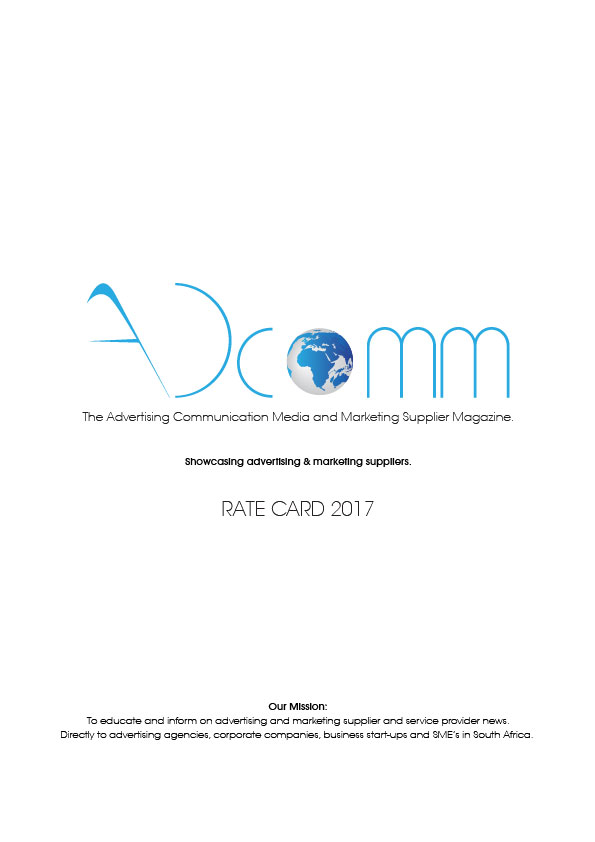 Adcomm Media Rate Card 2017 cover