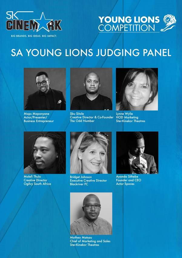 SA young lions judging panel