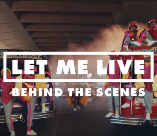 Collaboration on Let me Live - Behind the scenes