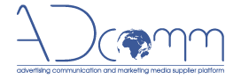 Advertising and Marketing Communication Supplier Platform Adcomm Logo