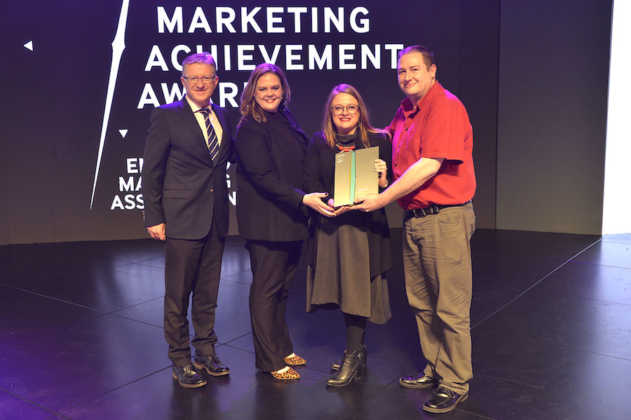 Winners of the Excellence in Brand Marketing (B2B) award Agrinet for the Beyond Agriculture campaign with partner agency Vaimoglobal