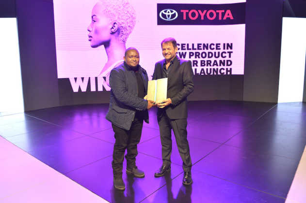 Winners of the Excellence in New Brand or Product Launch award Toyota SA for Toyota Rush Live That Rush Life campaign with partner agency FCB Johannesburg