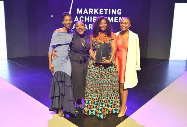 Winners of the Excellence in Reputation Management award, AngloAmerican for Makarapa City with partner agency Ogilvy SA