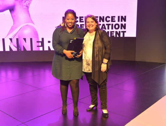 Winners of the Excellence in South African Resonance Marketing award ABInBev SA for the Castle Lager #SmashTheLabel campaign and their agency partner Ogilvy SA with Tara