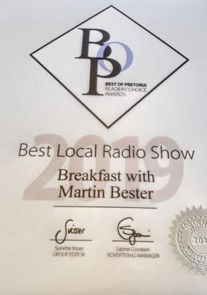 Jacaranda-FM-scoops-Best-local-radio-show-Breakfast-with-Martin-Bester