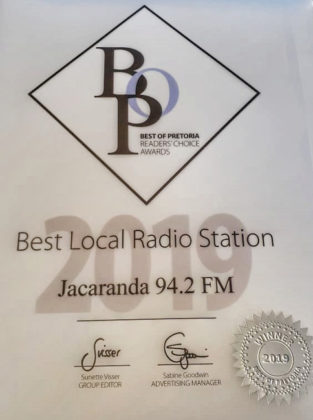 Jacaranda-FM-scoops-Best-local-radio-station