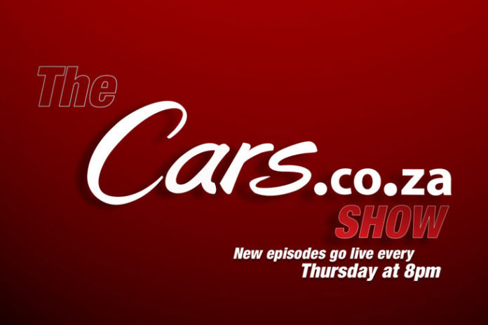 cars.co.za weekly episodes kickoff