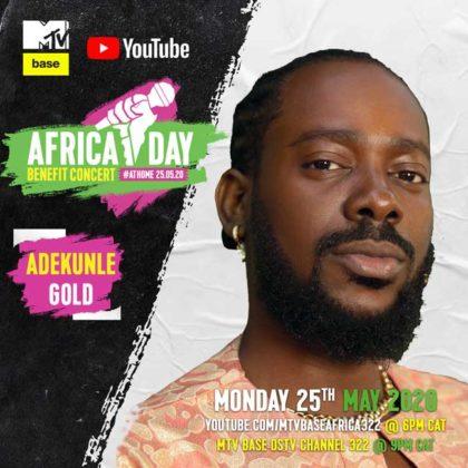 Adekunle Gold_Africa Day Benefit Concert