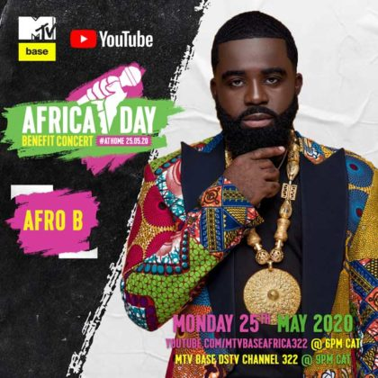 Afro B_Africa Day Benefit Concert