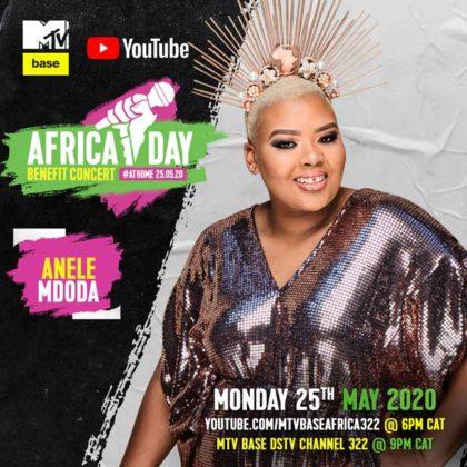Anele Mdoda_Africa Day Benefit Concert