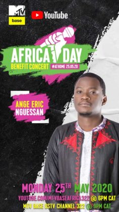 Ange Eric Nguessan Africa Day Benefit Concert_story post