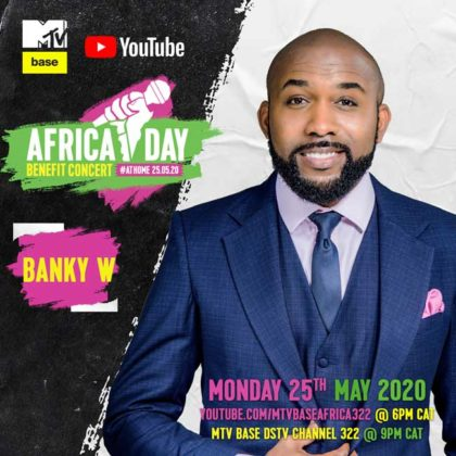 Banky W_Africa Day Benefit Concert