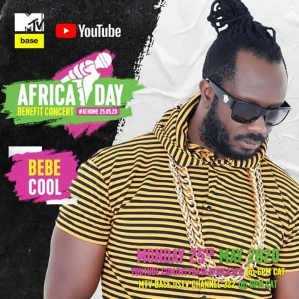 Bebe Cool_Africa Day Benefit Concert