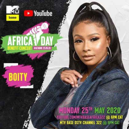Boity_Africa Day Benefit Concert