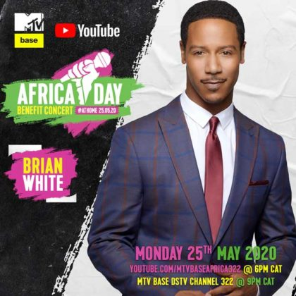 Brian White_Africa Day Benefit Concert