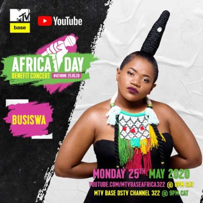 Busiswa_Africa Day Benefit Concert