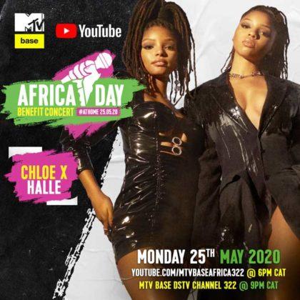 Chloe x Halle_Africa Day Benefit Concert