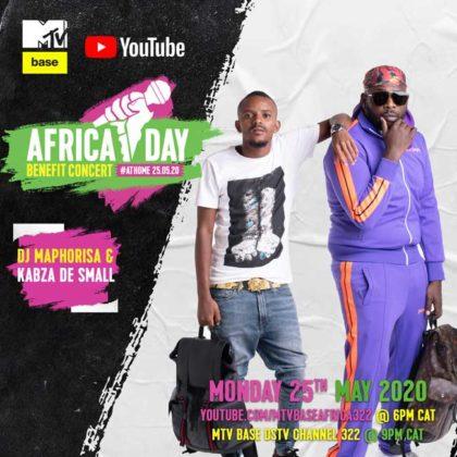 DJ Maphorisa _ Kabza De Small_Africa Day Benefit Concert