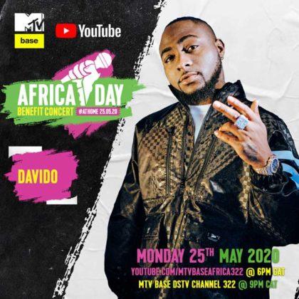 Davido_Africa Day Benefit Concert