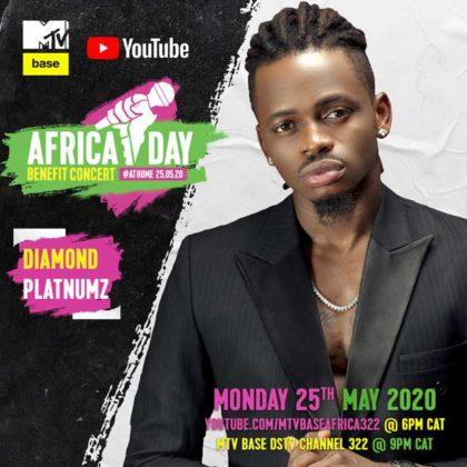 Diamond Platnumz_Africa Day Benefit Concert