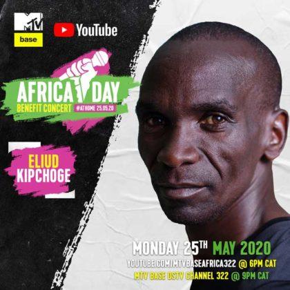 Eliud Kipchoge_Africa Day Benefit Concert