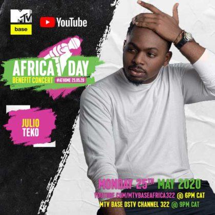 Julio Teko_Africa Day Benefit Concert