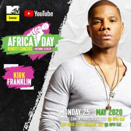 Kirk Franklin_Africa Day Benefit Concert