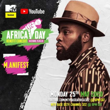 M_anifest__Africa Day Benefit Concert