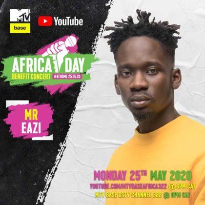 Mr Eazi_Africa Day Benefit Concert