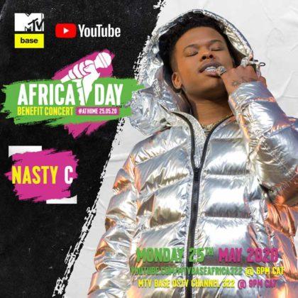 Nasty C Africa Day Benefit Concert