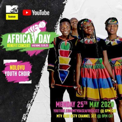 Ndlovu Youth Choir Africa Day Benefit Concert
