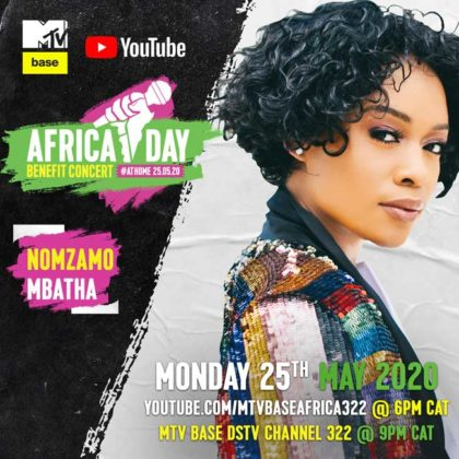 Nomzamo Mbatha_Africa Day Benefit Concert