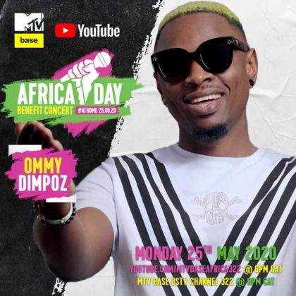 Ommy Dimpoz _Africa Day Benefit Concert