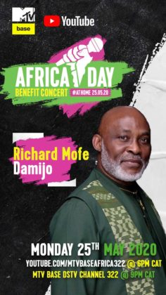 Richard Mofe Damijo RMD__Africa Day Benefit Concert_story post