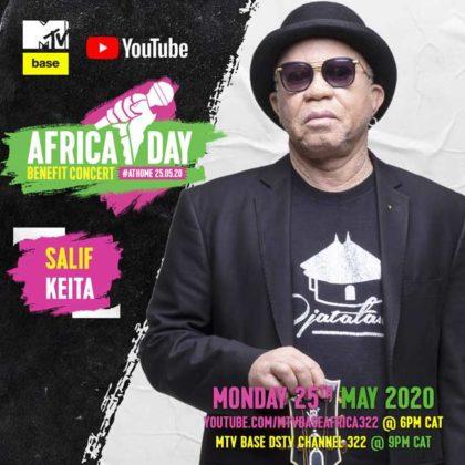 Salif Keita Africa Day Benefit Concert