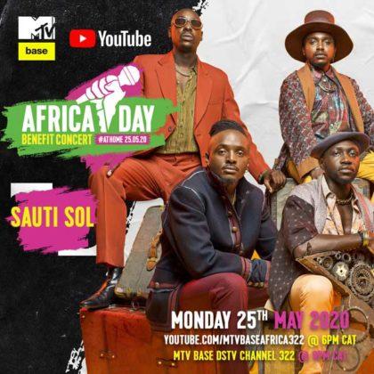 Sauti Sol_Group__Africa Day Benefit Concert