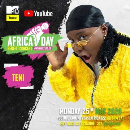 Teni_Africa Day Benefit Concert