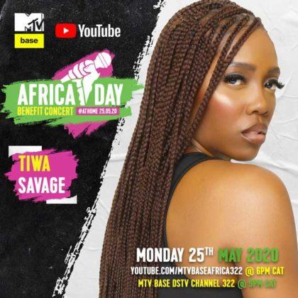 Tiwa Savage_Africa Day Benefit Concert