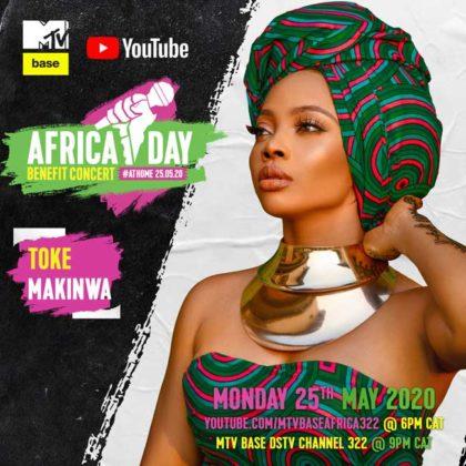 Toke Makinwa_Africa Day Benefit Concert