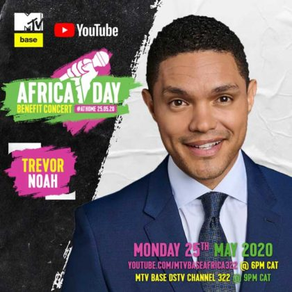 Trevor Noah_Africa Day Benefit Concert