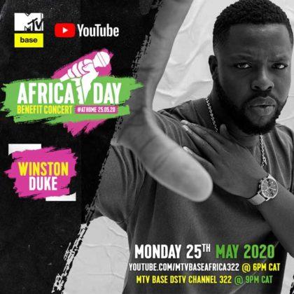 Winston duke_Africa Day Benefit Concert