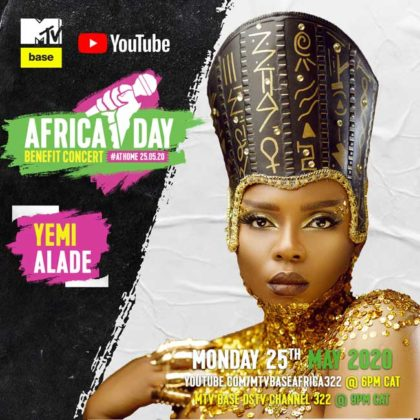 Yemi Alade_Africa Day Benefit Concert