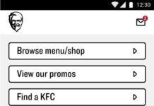 KFC-mobile-app