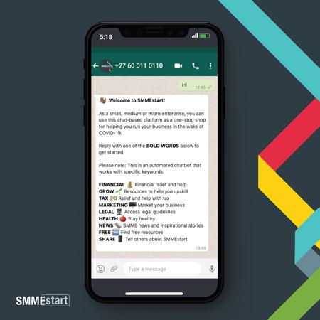 SMMEstart-chatbot-phone-on-phone
