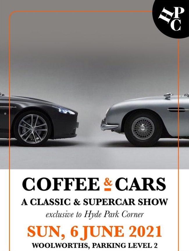 Hyde Park Corner set to drop jaws with Coffee & Cars showcase